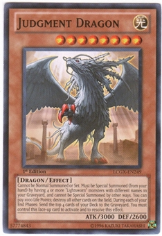 Yu-Gi-Oh Legendary Collection 2 Single Judgment Dragon Common