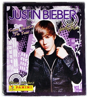 Justin Bieber Sticker Box (Panini 2011)