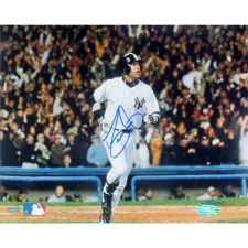 David Justice Autographed 2000 ALCS New York Yankees 16x20 Photograph