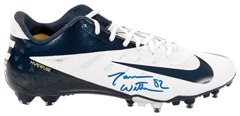 Jason Witten Autographed Dallas Cowboys Authentic Nike Hyperfuse Cleat (JSA)