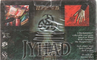 White Wolf Jyhad/Vampire The Eternal Struggle Jyhad Base Set #1 Booster Box