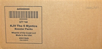 Kaijudo The 5 Mystics Booster 6-Box Case