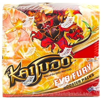 Kaijudo Evo Fury Booster Box