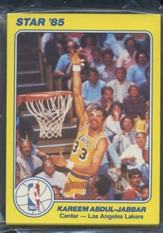 1984/85 Star Co. Basketball Court Kings 5x7 Series 1 Bagged Set