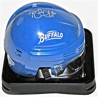 Patrick Kaleta Autographed Buffalo Sabres Royal Blue Hockey Mini-Helmet