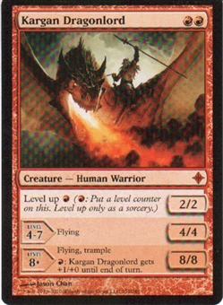 Magic the Gathering Rise of the Eldrazi Single Kargan Dragonlord Foil