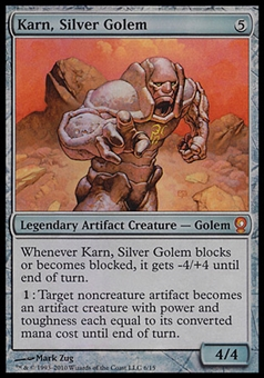 Magic the Gathering From The Vault Single Karn, Silver Golem - NEAR MINT (NM)
