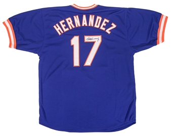 Keith Hernandez Autographed New York Mets Baseball Jersey (JSA)