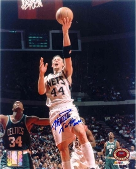 Keith Van Horn New Jersey Nets Autographed 8x10 Basketball Photo