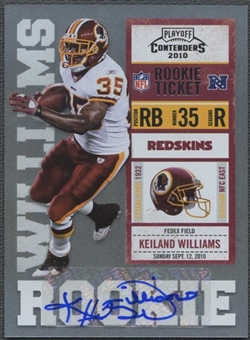 2010 Playoff Contenders #158 Keiland Williams /500 Rookie Autograph