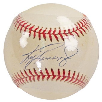 Ken Griffey Jr. Autographed Official MLB Baseball (Steiner)
