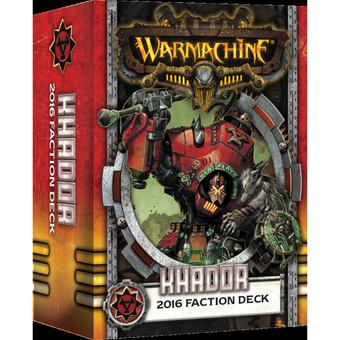 Warmachine: Khador Faction Deck Box (MKIII) (Presell)