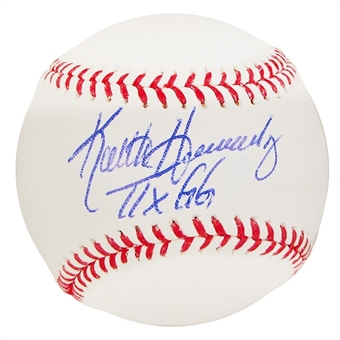 Keith Hernandez Autographed Official Major League Baseball (JSA COA) - GG Inscription