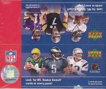 2005 Upper Deck Kickoff Football Hobby Box