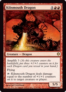 Magic the Gathering Archenemy Single Kilnmouth Dragon - NEAR MINT (NM)