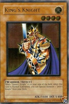 Yu-Gi-Oh Elemental Energy Single Kings Knight Ultimate Rare