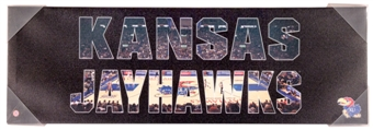 Kansas Jayhawks Artissimo Team Pride 30x10 Canvas