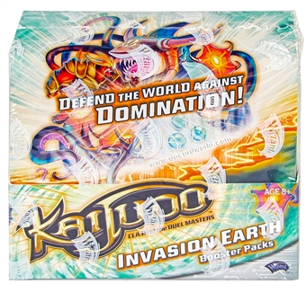 Kaijudo Invasion Earth Booster Box