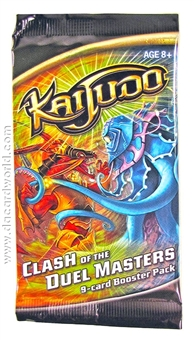 Kaijudo Clash of the Duel Masters Booster Pack