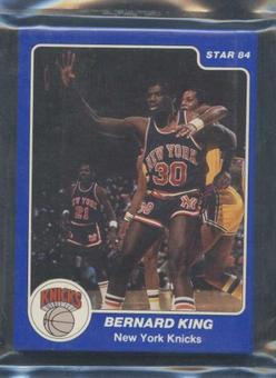 1983/84 Star Co. Basketball Knicks Bagged Set