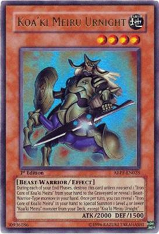 Yu-Gi-Oh Absolute Powerforce Single Koa'ki Meiru Urnight Ultra Rare