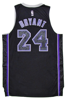 Kobe Bryant Los Angeles Lakers Black Adidas Carbon Jersey (Size XXL)