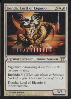 Magic the Gathering Champs of Kamigawa Single Konda, Lord of Eiganjo Foil