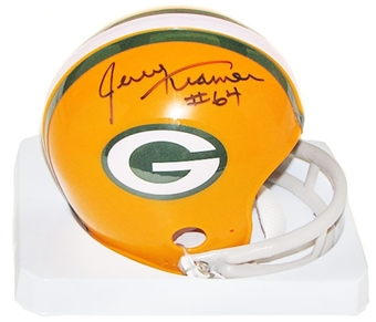 Jerry Kramer Autographed Green Bay Packers Mini Helmet
