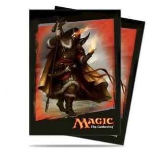 Ultra Pro Magic Khans of Tarkir Sarkhan Standard Sized Deck Protectors (80 ct) - Regular Price $8.99 !!!