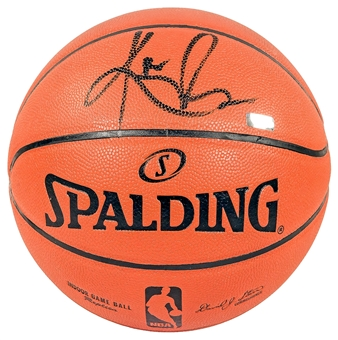 Kyrie Irving Autographed Replica Spalding Basketball (Panini Authentics)