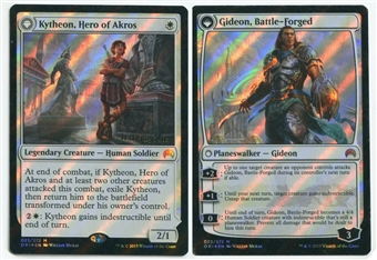 Magic the Gathering Promo Single Kytheon, Hero of Akros PRERELEASE FOIL - NEAR MINT (NM)