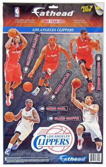Fathead Los Angeles Clippers Team Set Wall Graphic