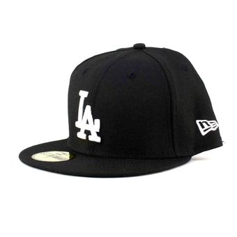 Los Angeles Dodgers New Era 59Fifty Fitted Black Hat (7 3/4)