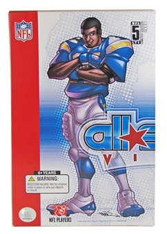 LaDainian Tomlinson Upper Deck All-Star Vinyl Collectible Figure 4ct. Case (#'d /500)