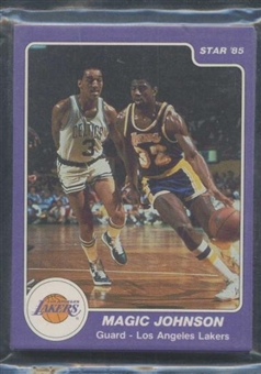 1984/85 Star Co. Basketball Lakers Bagged Set