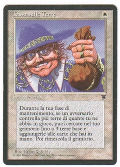 Magic the Gathering Legends Single Land Tax - Italian - NEAR MINT (NM)