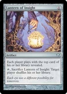 Magic the Gathering Fifth Dawn Single Lantern of Insight Foil