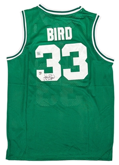 Larry Bird Autographed Boston Celtics Green Adidas Jersey (Bird Hologram)