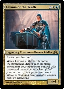 Magic the Gathering Dragon's Maze Single Lavinia of the Tenth - NEAR MINT (NM)