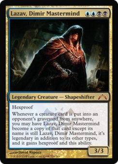 Magic the Gathering Gatecrash Single Lazav, Dimir Mastermind - NEAR MINT (NM)