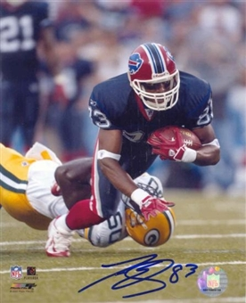 Lee Evans Autographed Buffalo Bills 8x10 Football Photo (After Catching)