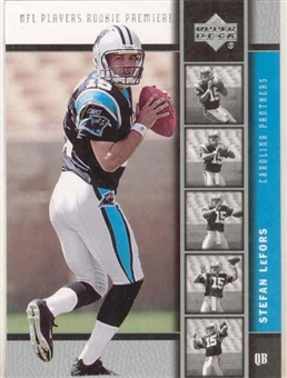 2005 Upper Deck Football Stefan LeFors 50 Card RC Lot