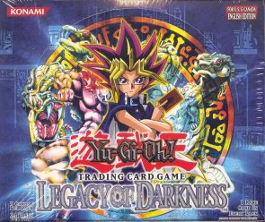 Upper Deck Yu-Gi-Oh Legacy of Darkness Unlimited Booster Box (24-Pack)