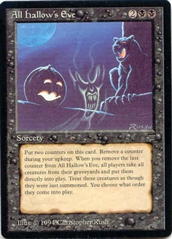 Magic the Gathering Legends Single All Hallow's Eve - NEAR MINT (NM)