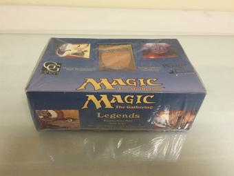 1994 Magic the Gathering Legends SEALED English Booster Box - GREAT CONDITION