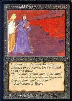 Magic the Gathering Legends Single Underworld Dreams LIGHT PLAY (NM)
