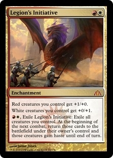 Magic the Gathering Dragon's Maze Single Legion's Initiative UNPLAYED (NM/MT)