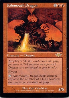 Magic the Gathering Legions Single Kilnmouth Dragon UNPLAYED (NM/MT)