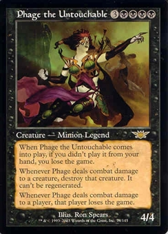 Magic the Gathering Legions Single Phage the Untouchable - NEAR MINT (NM)