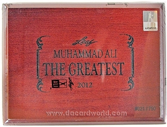 2012 Leaf Muhammad Ali - The Greatest Boxing Hobby Box